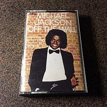 Michael Jackson OFF THE WALL кассета бразилия