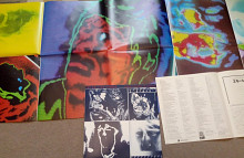 ROLLING STONES - EMOTIONAL RESCUE / ESS-81285 , Japan , m/m + POSTER