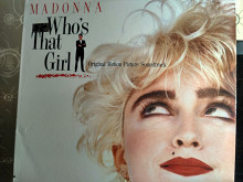 MADONNA Who's That Girl винил