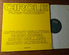 CIRCLE PARIS-CONCERT / ANTHONY BRAXTON , 2XLP , 1972 / ECM 1018/19 , GERMANY , m-//vg++/vg+