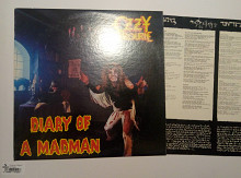 OZZY OZBOURNE - DIARY OF A MADMAN 1981 / Jet Records – FZ 37492, usa , m-//m-/vg++