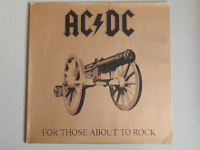 AC/DC ‎– For Those About To Rock (We Salute You) (Atlantic ‎– ATL K 50 851, Germany) NM-/NM-