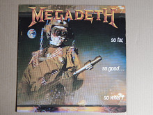 Megadeth ‎– So Far, So Good... So What! (Capitol Records ‎– 7 48148 1, Germany) EX+/EX+