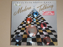 Modern Talking ‎– Let's Talk About Love - The 2nd Album (Hansa ‎– 240800-1, France) EX/NM-