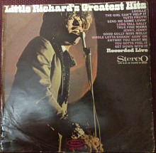 Little Richard's Greatest Hits Recorded Live 1967 (Holland) [VG/VG-]