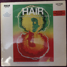 Hair-The Original Broadway Cast Recording Hair 1968 (Germany) [M]