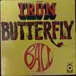 Iron Butterfly - Ball 1969 (US Gatefold) [Side 1- NM / Side 2- EX-]
