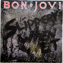 "Bon Jovi - ""Slippery when wet"""