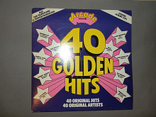 40 Golden Hits from the 50s-60s 2LP