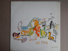 Crosby, Stills, Nash & Young ‎– So Far (Atlantic ‎– HATS 421-143) NM-/NM-