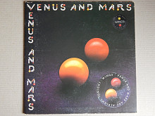 Wings ‎– Venus And Mars (Capitol Records ‎– SMAS-11419, US) insert, poster, stiker EX+/EX+