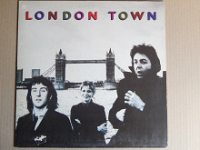 Wings ‎– London Town (EMI Electrola ‎– 1C 064-60 521, Germany) poster EX/NM-