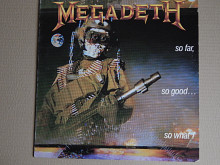 Megadeth ‎– So Far, So Good... So What! (Capitol Records ‎– 64 7481481, Italy) NM-/NM-