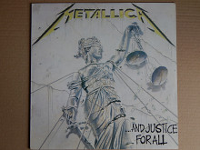 Metallica ‎– ...And Justice For All (Vertigo ‎– 836 062-1, Spain) NM/NM-/EX+