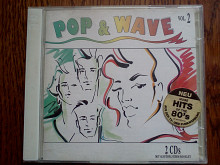 POP & WAVE 2 CDs (Hits of the 80s )