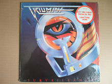 Triumph ‎– Surveillance (MCA Records ‎– MCA-42083, Canada) NM-/NM-