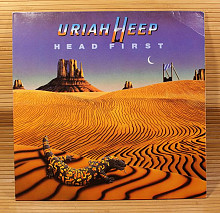 Uriah Heep (Head First) 1983. (LP). 12. Vinyl. Пластинка. Germany.