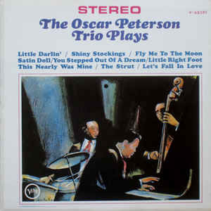 OSCAR PETERSON Trio Plays 1964 Can Verve EX+\EX+