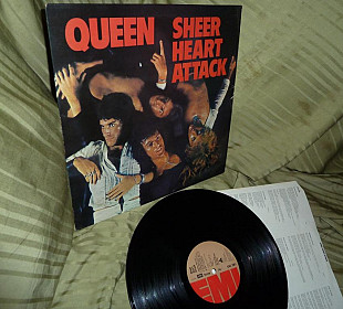 QUEEN Sheer Heart Attack 1974 EMI UK EMC 3061 EX / NM