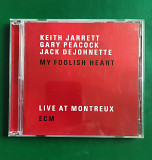 Jazz on ECM. Keith Jarrett / Gary Peacock / Jack DeJohnette ‎– My Foolish Heart (Live At Montreux)