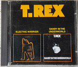 T.Rex - Electric Warrior/Dandy in the Underworld (1971/1977)