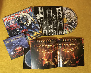 Iron Maiden ‎– The Number Of The Beast (Mini Vinyl CD, оригинал, USA)