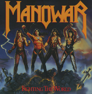 Manowar ‎– Fighting The World (US 2018)