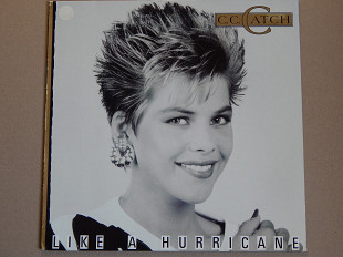 C.C. Catch ‎– Like A Hurricane (Mega Records ‎– MRLP 3069, Denmark) NM-/NM-
