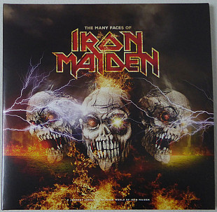 V.A. Iron Maiden - The Many Faces Of Iron Maiden - 2016. (2LP). 12. Vinyl. Пластинки. Europe. S/S.