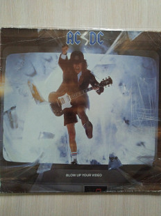 AC/DC ‎– Blow Up Your Video\Atlantic \781 828-1\UK & Europe\1988\VG\VG