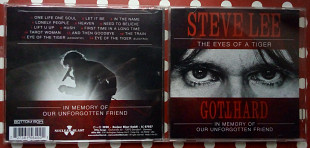 Gotthard – Steve Lee - The Eyes of A Tiger – In Memory of Our Unforgotten Friend! 2020 (NEW)