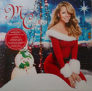 Mariah Carey – Merry Christmas II You - 2010. (LP). 12. Colour Vinyl. Пластинка. Europe. S/S. Запеча