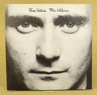 Phil Collins ‎– Face Value (Англия, Virgin)