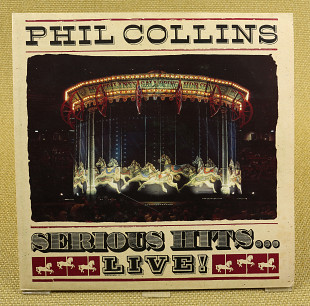 Phil Collins ‎– Serious Hits...Live! (Германия, Virgin)