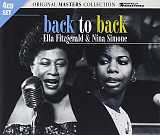 Ella Fitzgerald & Nina Simone ‎– Back to Back (2010, 4CD, запечатанный)