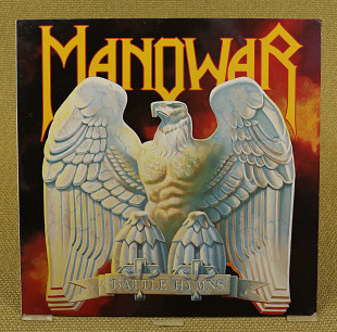 Manowar ‎– Battle Hymns (Европа, Liberty)