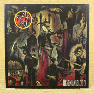 Slayer ‎– Reign In Blood (Германия, Geffen Records) Unofficial Release