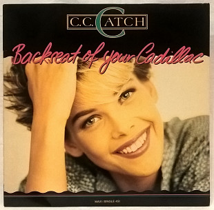 C.C. Catch (Back Seat Of Your Cadillack) 1988. (LP). 12. Vinyl. Пластинка. Germany.