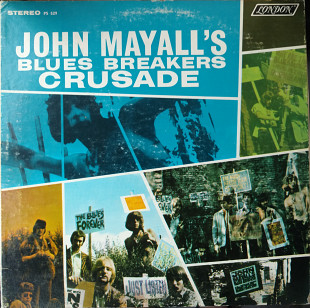 Jonh Mayall And The Bluesbreakers-Crusade 1967 [VG+ / VG]