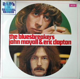 Jonh Mayall And The Bluesbreakers With Eric Clapton 1966 [M / M-] / A Hard Road 1967 [EX+ / EX] (NL)