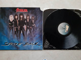 STEELER ( AXEL RUDI PELL ) STRIKE BACK ( STEAMHAMMER SHLP 7002 ) 1987 USA