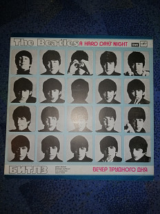 The Beatles / Битлз (A Hard Day's Night) 1964. (LP). 12. Латвия.