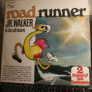 JR.WALKER''ROAD RUNNER''2 LP