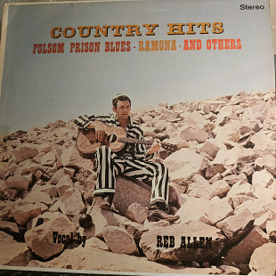 REB ALLEN COUNTRY HITS LP