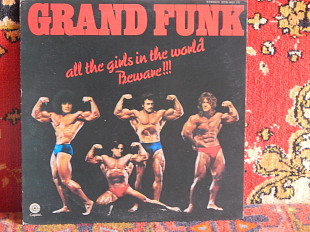 Grand Funk ‎– All The Girls In The World Beware !!! (Capitol Records ‎– ECS-80115, Japan) NM-/VG+