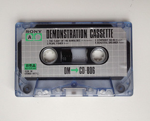 Аудиокассета Sony Demonstration Cassette DM CD-806