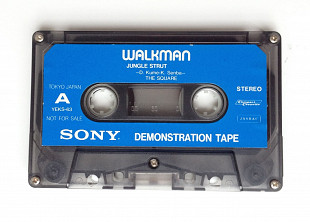 Аудиокассета Sony Walkman Demonstration Tape YEKS-63