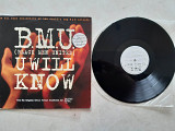 B.M.U. ( BLACK MEN UNITED ) UWILL KNOW ( MERCURY MERX 420 / INT 856 641-1 ) 1995 ENGL