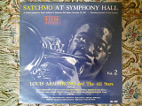 Японская виниловая пластинка LP Louis Armstrong and The All Stars - Satchmo At The Symphony Hall Vol