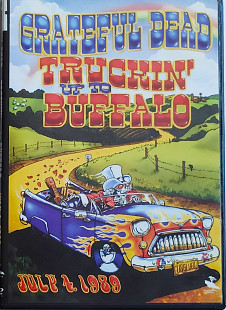 Grateful Dead - Trucking Up To Buffalo. July 4, 1989